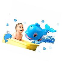 Baby Bath Toy Swimming Fish Spray Water Dolphins Floating