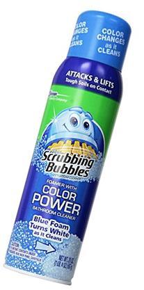 Scrubbing Bubbles Bathroom Cleaner Aerosol Color Change 20