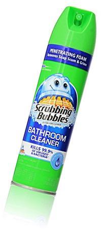 Scrubbing Bubbles Bathroom Cleaner Fresh Clean Scent
