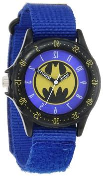 Batman Kids' BAT5037  Time Teacher Watch with Blue Canvas