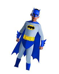Batman The Brave and The Bold Batman Costume with Mask and