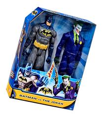 Batman Batman vs The Joker 12 Action Figure 2-Pack