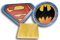 Batman vs Superman Party Supply Kit - Napkins and Plates