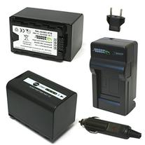 Wasabi Power Battery  and Charger for Panasonic VW-VBD58 and