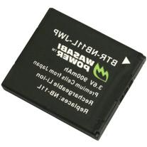 Wasabi Power Battery for Canon NB-11L, NB-11LH and Canon