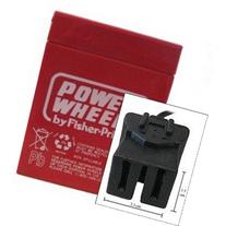 Power Wheels battery, 6 volt, Type A connector