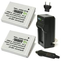 Wasabi Power Battery  and Charger for Canon NB-6L, NB-6LH,