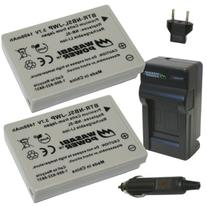 Wasabi Power Battery  and Charger for Canon NB-5L and Canon