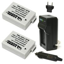 Wasabi Power Battery  and Charger for Canon LP-E8 and Canon