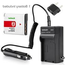 Battery+Charger for Sony CyberShot DSC-W130 DSC-W150 DSC-