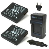 Wasabi Power Battery  and Charger for Panasonic Lumix DMW-