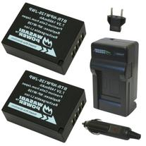 Wasabi Power Battery  and Charger for Fujifilm NP-W126 and