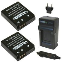 Wasabi Power Battery  and Charger for Ricoh DB-65 and Ricoh