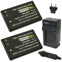 Wasabi Power Battery  and Charger for Contour 2350, 2450,