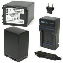 Wasabi Power Battery  and Charger for Canon BP-828 and Canon