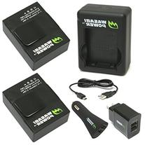 Wasabi Power Battery  and New Dual Charger for GoPro Hero3,