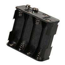 Mosuch Battery Holder for  AA with Standard Snap Connector