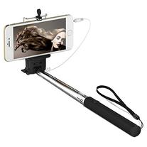 JETech Battery Free Selfie Stick Extendable Cable Control