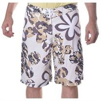 Stussy Men's Battle Flower Swim Trunk Shorts