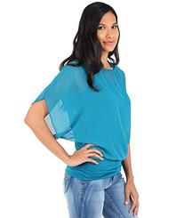 Batwing Blouse Top