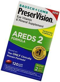 Bausch & Lomb PreserVision AREDS 2 Formula Eye Vitamin &