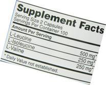 Optimum Nutrition BCAA 1000mg, 200 Capsules