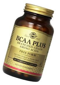 Solgar BCAA Plus Branched Chain Amino Acids Vegetable