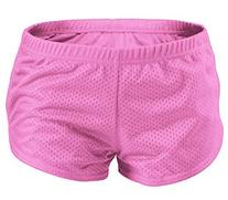 Soffe Girls Beach Pink Volleyball Shorts L