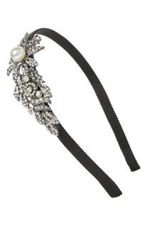 Tasha Bead & Crystal Flower Headband