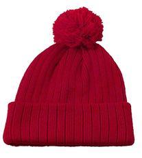Simplicity Unisex Winter Beanie Hats with Pom, 100% Acrylic