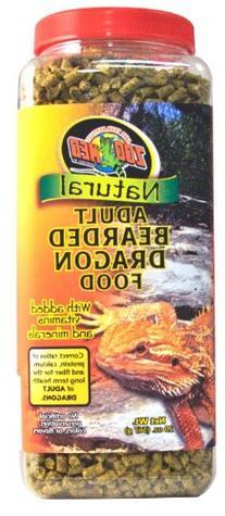 Zoo Med Bearded Dragon Food Audlt 20oz