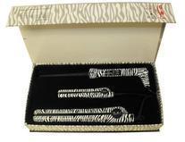 Iso Beauty Tourmaline 3pc Set Twister Curl Zebra +Mini Iron