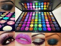 Beauty Treats 88 PRO Glitter Cream Color Eye Shadow Makeup