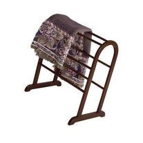 Winsome Antique Walnut Quilt Rack