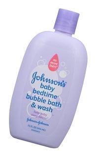 Johnson's Bedtime Baby Bubble Bath And Wash, 15.0 Fl. Oz