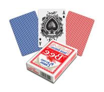 Bee Standard Index Poker Playing Cards Casino Quality Red or