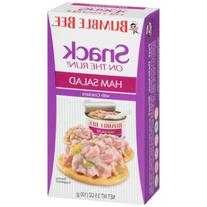 Bumble Bee® Snack on the Run! Ham Salad with Crackers
