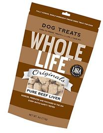 Whole Life 100% Pure Beef Liver 4oz