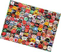 White Mountain Puzzles Beer Bottle Caps - 550 Piece Jigsaw