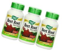 Nature's Way Beet Root Powder Capsules 500 Mg, 100-count