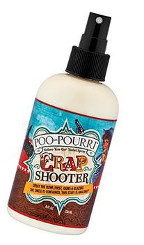 Poo-Pourri Before-You-Go Toilet Spray 8-Ounce Bottle, Crap