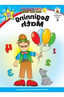 Beginning Math Home Workbook Gr K
