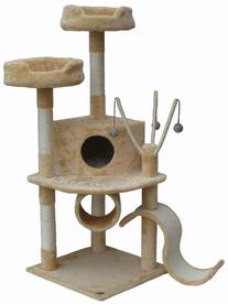 "Go Pet Club Beige 55"" Cat Condo F66"