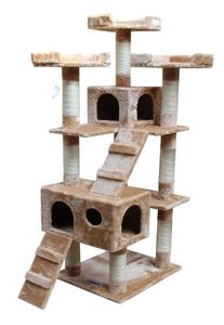 Kitty Mansions Bel Air Cat Tree, Beige