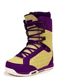 Celsius Belmont Women's Snowboard Boots , Cream/Purple, 10