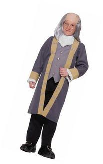 Ben Franklin Child Costume - Medium 8-10
