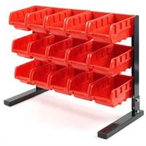 15 Piece Bench Top Parts Rack