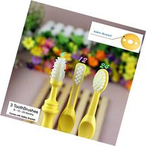 Benber Baby Bendable Training Toothbrush Triple Pack - 6