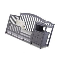 Sorelle Berkley Crib and Changer Toddler Rail - Gray