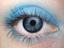 Bermuda Eye Makeup Eye Shadow Eyeliner- THE BEST Bright Blue
